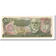 Costa Rica, 50 Colones, 1992, 1992-07-29, KM:257a, NEUF - Costa Rica