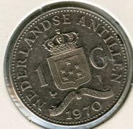 Antilles Neérlandaises Netherlands Antilles 1 Gulden 1970 KM 12 - Antilles Neérlandaises