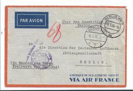 III-643 / Deutsches Konsulat Haiphong (Indochina) Frei Durch Ablösung 1936 - Germany