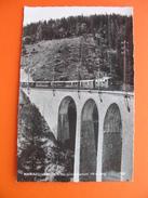 MARIAZELLERBAHN.Saugrabenviadukt - Trains