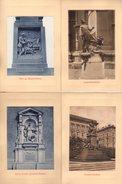 Jolie Série De 10 Cartes Sur Carton De Statues & Monuments Allemands - Mozart, Maria, Wafart, Radetzfy, Beetoven, Herzog - Ansichtskarten