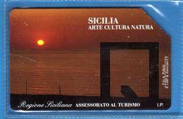 (2Eu) USATA °- SICILIA - ARTE, CULTURA, NATURA - C&C.2326 - Th - .  Vedi Descrizione - Italy