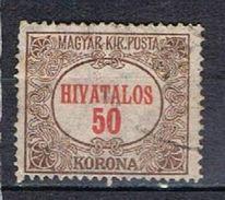 Type De 1921 N°15 - Service