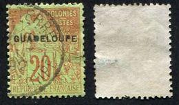 Colonie Française, Guadeloupe N°20 Oblitéré, Qualité B - Guadeloupe (1884-1947)