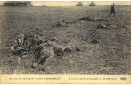 CPA N°7472 - UN COIN DU CHAMP DE BATAILLE A ETREPILLY - 02 AISNE - MILITARIA 14-18 - Oorlog 1914-18