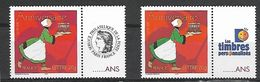 France 2005 - Yv N° 3778A ** - Anniversaire - Bécassine (les 2 Logos) - Personalized Stamps