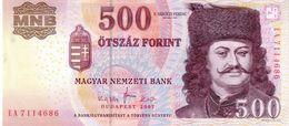 Hungary P.188  500 Forint 2007   Unc - Hungary