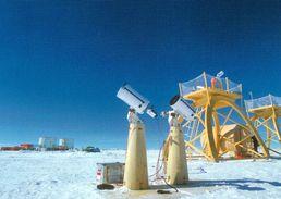 1 AK Antarktis Antarctica * Dome Concordia - Ground And Platform Telescopes * - Ansichtskarten
