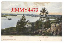 POST CARD - Umeä Västerbotten Suède -  Utsikt Frân Öberget 1907 - H. Glas' Pappershandel N° 264 - Scans Recto-Verso - Suède