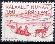 GREENLAND  # FROM 1981 STAMPWORLD  128 - Groenlandia