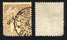 Colonie Française, Guyane N°17 Oblitéré, Qualité Beau - Used Stamps
