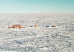 1 AK Antarctica Antarktis * The First Field Camp At Mid-C In The 1999-2000 Summer Season * - Ansichtskarten