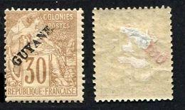Colonie Française, Guyane N°23 Neuf*, Qualité Beau+ - Guyana Francese (1886-1949)