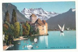 J.J. 7634 - Chillon Et Le Dent Du Midi - VD Vaud