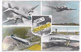 ORLY BOURGET - Avions - Aérodromes