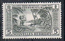 NOUVELLES-HEBRIDES N°185 N* - Leyenda Francesa