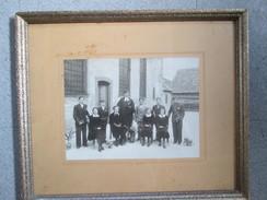 Tableaux Avec Photo ; Communion ; Photographe Charles Jaeck ; Obernai Ou Villages Alentours - Other