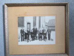 Tableaux Avec Photo ; Communion ; Photographe Charles Jaeck ; Obernai Ou Villages Alentours - Andere Sammlungen