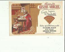 Buvard  De  GESLOT-VOREUX Biscuits A RONCHIN Les LILLE 59 - Cake & Candy