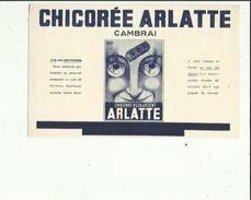 Buvard  De CHICOREE  ARLATTE  Bleu_argent  A CAMBRAI 59 - Food