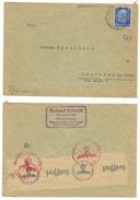 Allemagne // Deutschland // Lettre Censurée Pour La Suisse - Briefe U. Dokumente