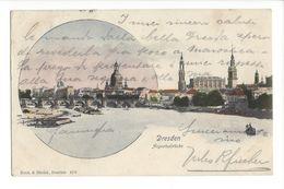 17343 - Dresden Augustusbrücke - Dresden