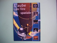 CARTE PUBLICITAIRE  L'Aube De L'ère Spatiale  -  Planétarium De STRASBORG  -  67  -  Bas Rhin - Pubblicitari