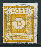 SBZ Nr. 47 Mit Durchstich G ~ Michel 10,-- Euro - Zone Soviétique