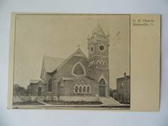 U.B. - UNITED BRETHEREN CHURCH - HICKSVILLE, OHIO - Etats-Unis