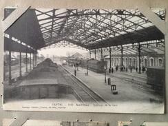 Cpa Dpt 15 Aurillac Intérieur De La Gare - Aurillac
