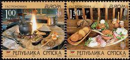 Bosnia & Herzegovina - Republika Srpska - 2005 - Europa CEPT - Gastronomy - Mint Stamp Set - Bosnien-Herzegowina