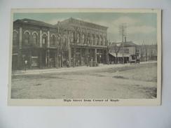 High Street From Corner Of Maple - Etats-Unis