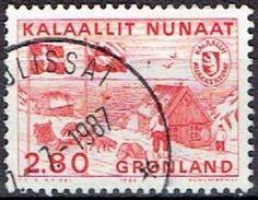 GREENLAND  # FROM 1986 STAMPWORLD  163 - Greenland