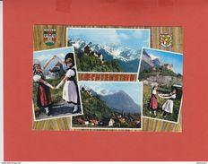 LIECHTSTEIN 1968 VIER ANSICHTEN - Liechtenstein