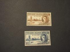 PITCAIRN - 1946 VITTORIA 2  VALORI - NUOVO(++) - Francobolli
