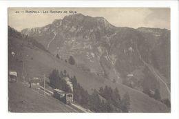 17362 -  Montreux Les Rochers De Naye Train - VD Vaud
