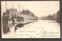 Rotterdam. Vlieger No.61. Goudsche Singel. Tram No.85 - Rotterdam