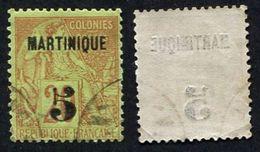 Colonie Française, Martinique N°1 Oblitéré, Qualité Très Beau- - Martinique (1886-1947)