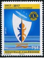 Nouvelle-Calédonie 2017 - Cent Du Lions Clubs International - 1 Val Neuf // Mnh - Nueva Caledonia