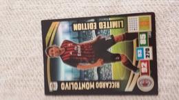 MONTOLIVO L Figurina PANINI Calciatori Serie A Adrenalyn 2016 2017 Official Trading Cards Card Calciatore FigurinePANINI - Trading Cards