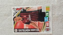 MONTOLIVO  Figurina PANINI Calciatori Serie A Adrenalyn 2016 2017 Official Trading Cards Card Calciatore FigurinePANINI - Trading Cards