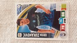 ZUKANOVIC   Figurina PANINI Calciatori Serie A Adrenalyn 2016 2017 Official Trading Cards Card Calciatore FigurinePANINI - Trading Cards
