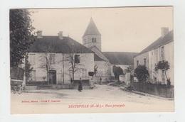 52 - DINTEVILLE / PLACE PRINCIPALE - Autres Communes