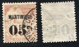 Colonie Française, Martinique N°14 Oblitéré ; Qualité Beau - Martinique (1886-1947)