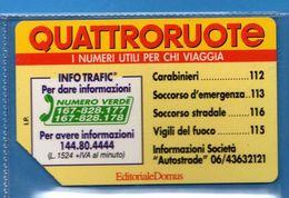 (2Eu) USATA °-  Ed. DOMUD - QUATTRORUOTE - C&C. 2360 - Mn - .  Vedi Descrizione - Italia
