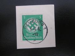 Deutsches Reich Nr. 134 Dienstmarke Gestempelt Auf Papier (B52) - Service