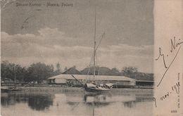 CPA - AK De Moeara Muara Padang Douane Kantoor Port Harbour Sumatra Niederländisch Indien Indonesien Indonésie Indonesia - Indonesië