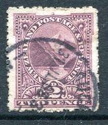 New Zealand 1902-07 Pictorials - Wmk. NZ & Star, P.14 - 2d Pembroke Peak Used (SG 319) - 1855-1907 Crown Colony