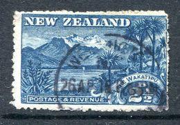 New Zealand 1902-07 Pictorials - Wmk. NZ & Star, P.14 - 2½d Lake Wakatipu Used (SG 320) - 1855-1907 Crown Colony