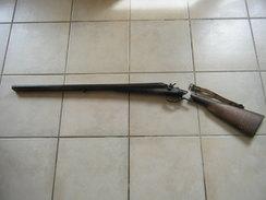 Fusil De Chasse Lefaucheux Crosse  A Recoller - Armes Neutralisées
